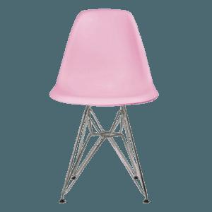 Shell Chair in Eiffel Metal Legs